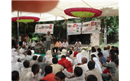 Farmers' meeting at Village Rapar, Dist. Kutch, Gujarat